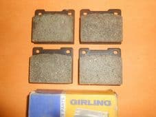 FORD ESCORT Mk1 1100, 1300 (1968-76) GIRLING BRAKE PADS - GDB533